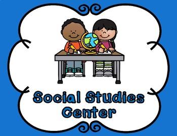 Prekindergarten and Kindergarten Center Signs:  EDITABLE