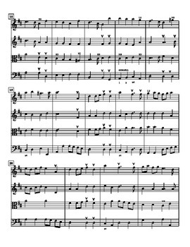 Prelude from Te Deum for Intermediate String Quartet