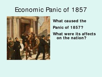 Prelude to the Civil War (Sectional Balance 1850s)