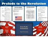 Pre American Revolution Unit