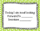 Premade & Editable Morning Meeting Share Cards