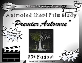 Premier Automne Animated Short Film Unit Study