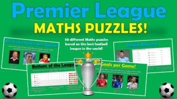 Premier League Maths Puzzles (Puzzles for Soccer Lovers!)