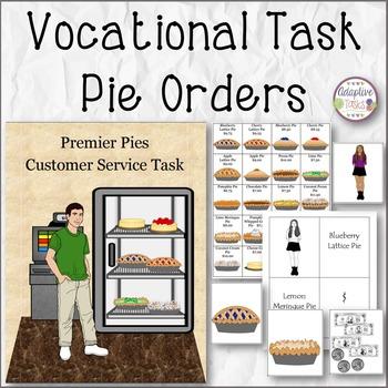 BINDER TASK Pie Orders