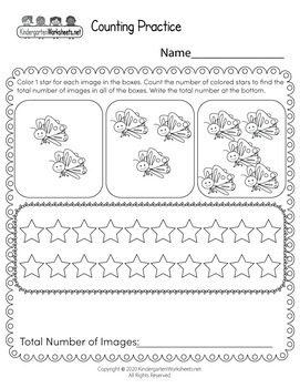 Premium Counting Worksheets Collection