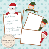 Premium Digital Peekaboo Christmas Frames Set - Christmas Borders
