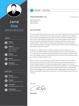 Premium Resume Template for MS Word - Suitable for Teachers