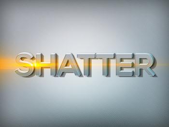 Premium Text Effect - 3 Dimensional #3 (Shatter)