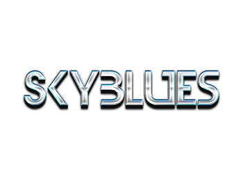Premium Text Effect - 3 Dimensional #4 (Skyblues)