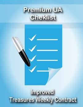 Treasures Centers Checklist