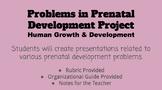 Prenatal Development Problems Project
