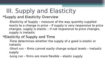 Prentice Hall Economics Ch 5 Sec 1 Understanding Supply