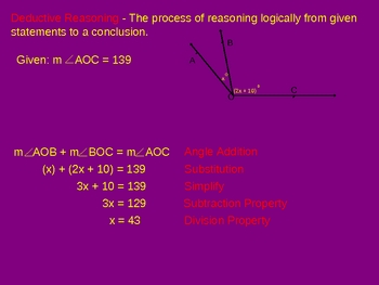 Prentice Hall Geometry Chapter 2 PPT