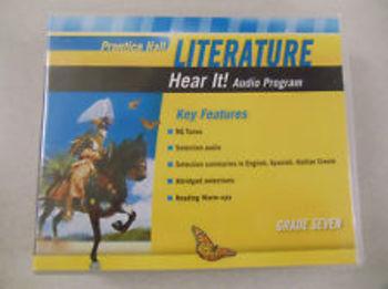 Prentice Hall Literature Hear It!Audio CD Book Set grade 7+Teacher+Spanish