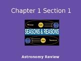 Prentice Hall Science Explorer 1-1 Reasons and Seasons