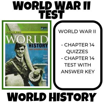 World War II test World History Prentice Hall
