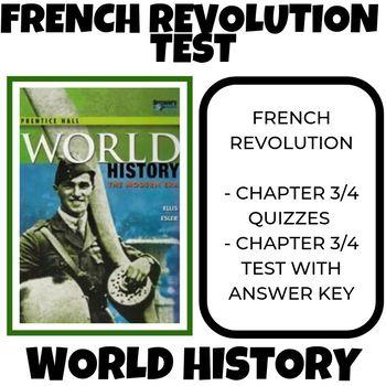 French Revolution Test Prentice Hall World History