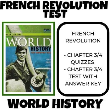 French Revolution Test Prentice Hall World History