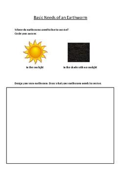 Prep Earthworm Assessment