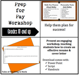 Prep For Pay Workshop