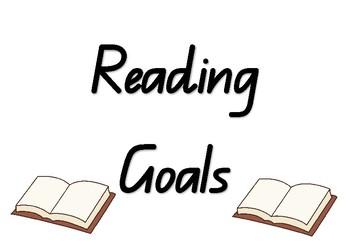 Prep / Foundation / Kindergarten Reading Goals