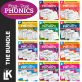 Prep-Free Phonics Bundle | Distance Learning