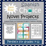Prep Free - Spanish Novel Project BUNDLE