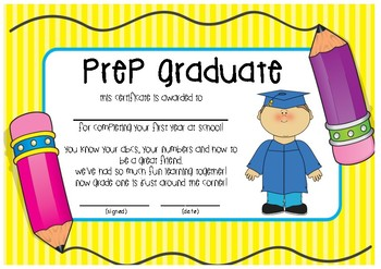 Prep Graduate certificate