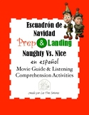 Prep & Landing/ Naughty Vs. Nice Movie Guide in Spanish