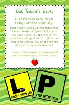Prep Open Day Badges