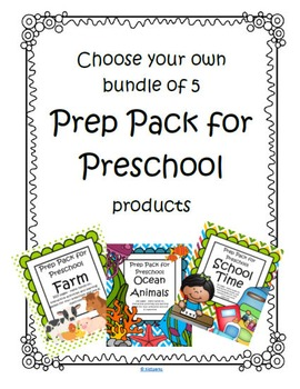 Preschool Themes Math and Literacy Centers and Activities