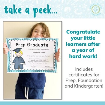 End of Year Prep and Foundation Graduate Certificates and Awards