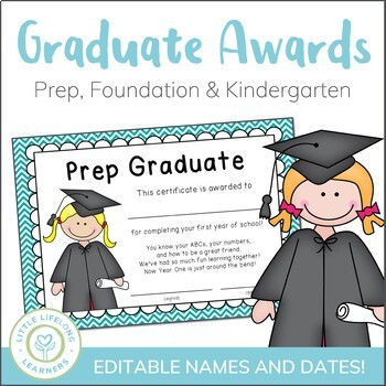 End of Year Prep and Foundation Graduate Certificates