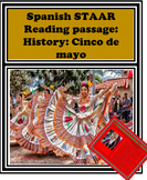 Spanish STAAR Reading passage: Cultura:Cinco de mayo