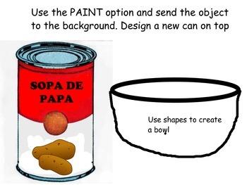Preparando Sopas- ELL, FL, ESOL integrated vocab unit using tech