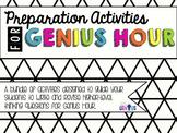 Preparation Activities for Genius Hour