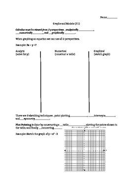 Preparation for Calculus #1