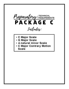 Preparatory B Technical Requirements - Package C