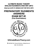 Music Theory - Preparatory Exam Set #1 Answers