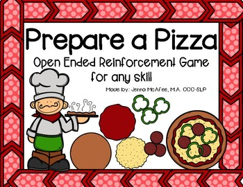 Prepare a Pizza: Open Ended Reinforcement Game