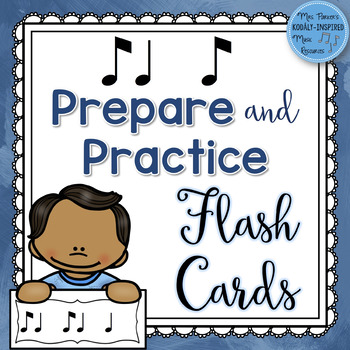 Rhythm Flash Cards: Ti Ta Ti (Syncopation / Syncopa) Prepare and Practice Cards