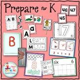 Prepare for Kindergarten Math and Literacy Summer Packet -