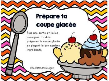 Prépare ta coupe glacée
