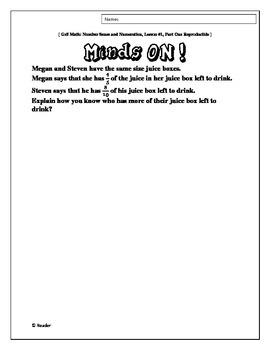 Prepared Three-Part Math Lessons: Number Sense