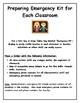 Preparing Emergency Kits for Classroom & Emergency Lockdown Procedures