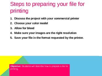 Preparing Files For Print