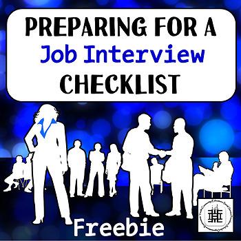 Preparing For An Interview Checklist