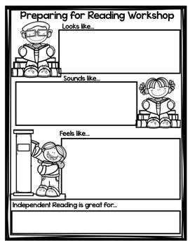 Preparing For Reading Workshop Freebie