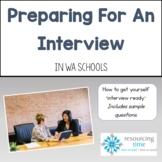 Preparing For an Interview in Western Australian Schools