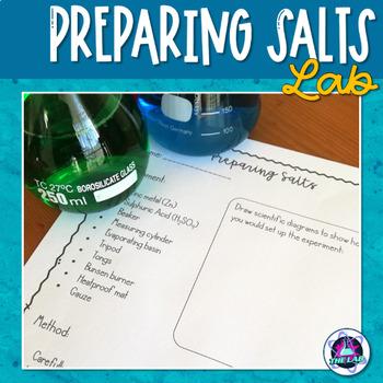 Preparing Salts (Zinc sulphate)